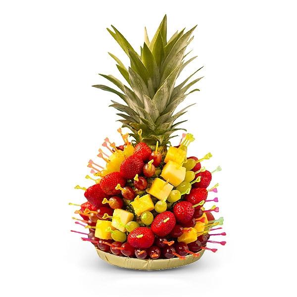 Корзина с фруктами своими руками фото